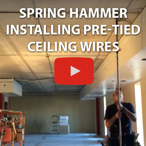 pretied-ceiling-wires